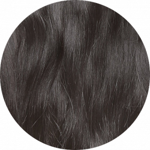 Dark Brown Straight Hair 25-27 IN (65-70 CM) 180-190 G