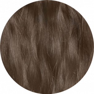 Chocolate Brown Straight Hair 25-27 IN (65-70 CM) 180-190 G