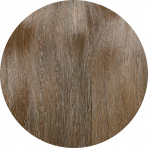 Light Brown Straight Hair 25-27 IN (65-70 CM) 180-190 G