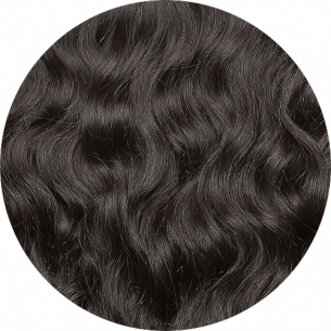 Dark Brown Wavy Hair 22-23 IN (55-60 CM) 240-250 G