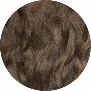 Chocolate Brown Wavy Hair 25-27 IN (65-70 CM) 180-190 G