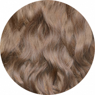 Light Brown Wavy Hair 22-23 IN (55-60 CM) 240-250 G