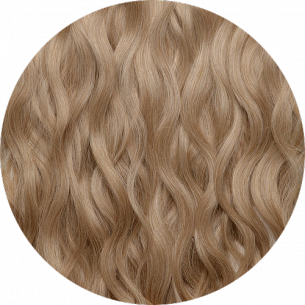 Dark Blond Wavy Hair 22-23 IN (55-60 CM) 240-250 G