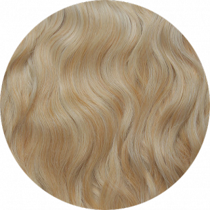 Light Blond Wavy Hair 25-27 IN (65-70 CM) 180-190 G