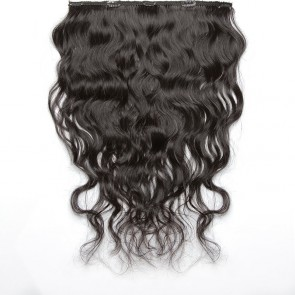 Dark Brown Wavy Hair 25-27 IN (65-70 CM)
