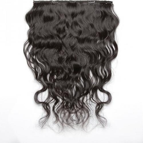 Dark Brown Wavy Hair 25-27 IN (65-70 CM)