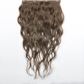 Chocolate Brown Wavy Hair 25-27 IN (65-70 CM)