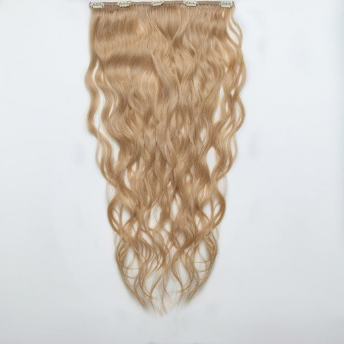 Natural Blond Wavy Hair 25-27 IN (65-70 CM)